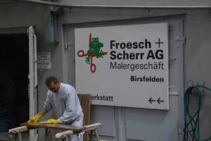 Spritzwerkstatt Froesch und Scherr